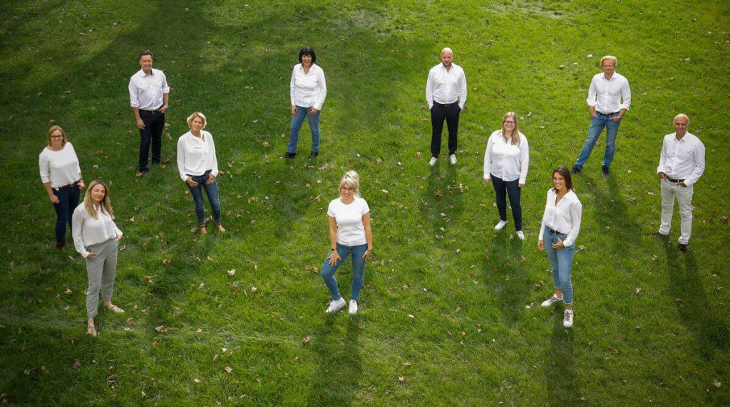 Teamfoto der Austrian Exhibition Experts, Stand Mai 2021